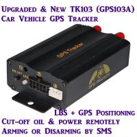 China GPS103A Global Car AVL Vehicle GPS SMS GPRS Tracker W/ Cut-off & Resume Oil & Power by SMS on sale