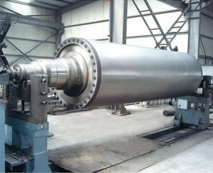 China Large Diameter Rubber Roll for paper machine on sale