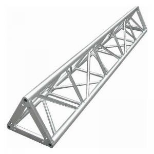 China Flexible 6061-T6 Aluminum Triangle Truss , Outdoor Performance Stage Lighting Truss Spigot on sale