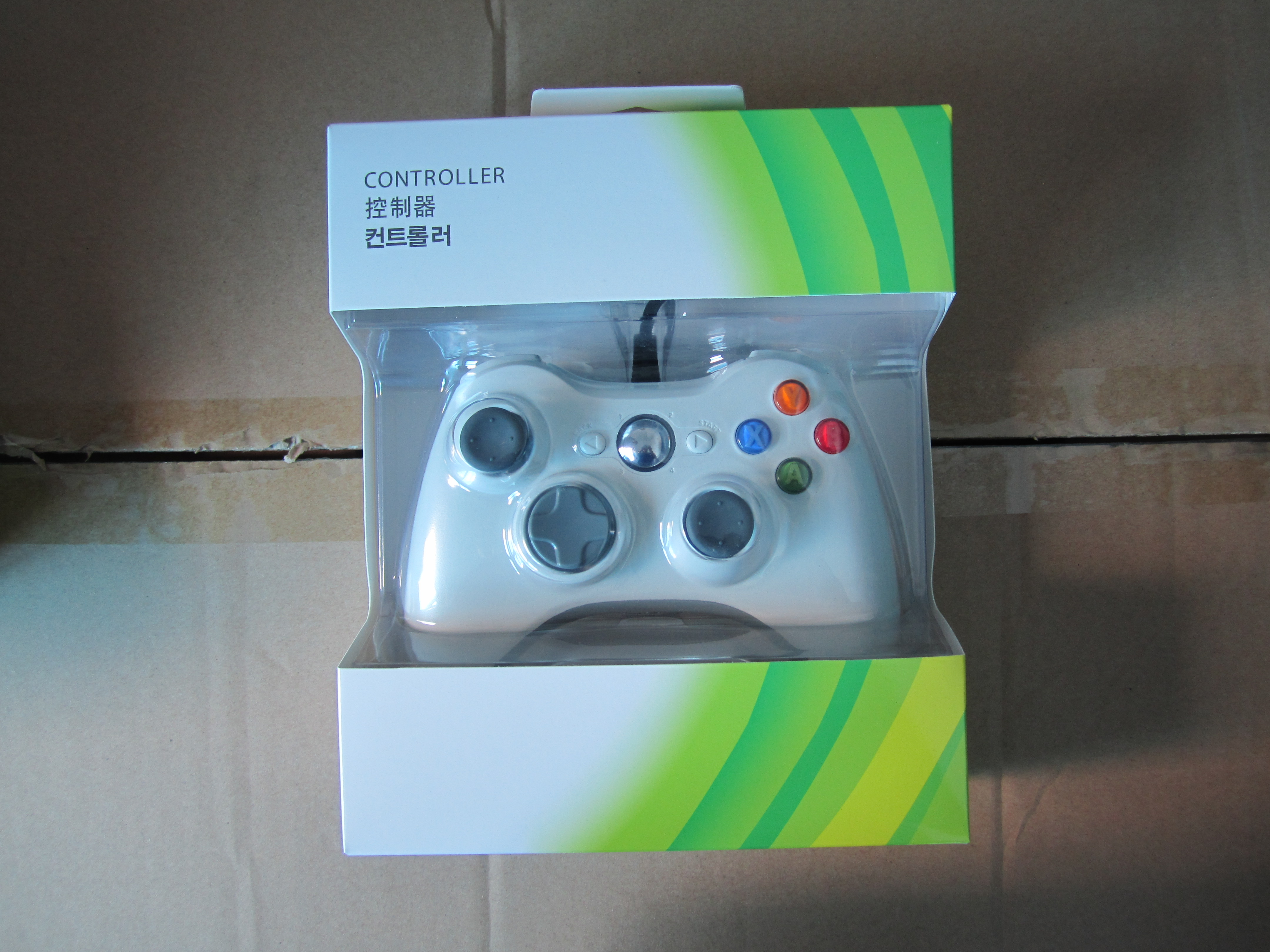 Wired USB XBOX360 / XBOX One Gamepad Compatible Win98 / 2000 for ...