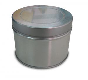 China Metal Cat Dog Food Storage Tin Box Packaging , Cookies In A Tin Can on sale