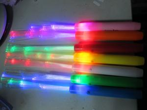China 7 Functions 37CM Red, Blue, Green Flashing Fiber Optic Stick / Lamps SR-1304 on sale