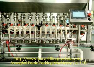 China Professional Piston Pump Hot Filling Machine For 50 Ml - 200 Ml on sale