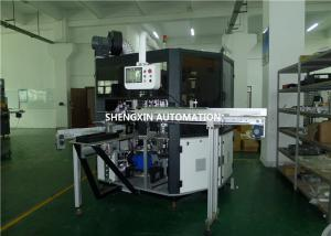 China Glass Tubes Screen Print Machine , Cosmetic Industrial Screen Printing Machinery supplier