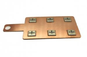 China OEM/DEM Nickel Plated Copper Bus Bar For 18650 Battery Pack SGS Certificated on sale