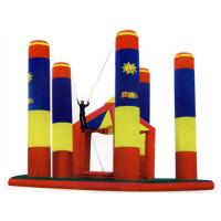Inflatable Amusement Park Bungee Trampoline For Outdoor Games