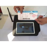Barcode Scanner Wireless POS Terminal , 58mm Printing POS System for Restaurant
