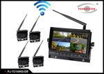 China 2.4G Wireless Transmitting Bus Rear View Camera , Wireless Remote Backup Camera wholesale
