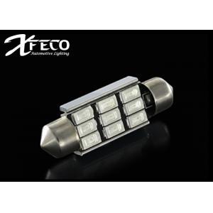 China PCs intérieurs 5730 LED DC12V de l'ampoule de tronc de lumière de dôme de la couleur 36MM de voiture blanche de tableau de bord 9 on sale