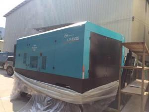 China Industrial Diesel Screw Compressor / Rotorcomp Portable Diesel Air Compressors on sale