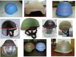 capacete balístico, protetor de cara, viseira