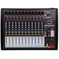 Professional Audio Mixer , 12 channel DJ music mixer with DSP I12