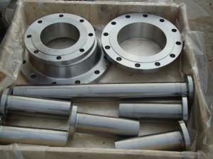 China CNC Lathe Machining ANSI 310 Stainless Steel Flange ASME B16.5 Polishing Surface on sale