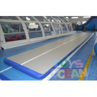 PVC Customized Gymnastics Air Track Inflatable Air Tumble Track For Sports