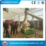CE Approved  Vertical Ring Die Beech Wood Press Pellet Machine for Sales