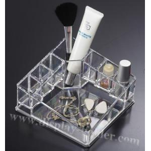 China Clear Cosmetic Organizer PLastic Acrylic Cosmetic Organizer for Lipstick on sale