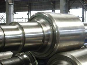 China HSS Series Forged Steel Rolls , Cold Rolling Mill Rolls Apply To Hot Rolled Steel on sale