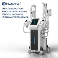 China 2500w big power standing cryolipolysis with 4 different size handles for whole body and double chin treatment on sale
