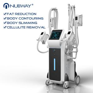 China big powerful 2500W 4 handles cryolipolysis fat reduction with best cooling system -15 - 5 ℃ on sale