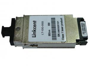 China 1.25G 1310/1550nm 0-3km mini gbic transceiver sfp mini gbic transceiver on sale