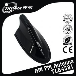 China Simple Design Electric Radio Black Shark Fin Antenna Replacement For Uinversal Car on sale
