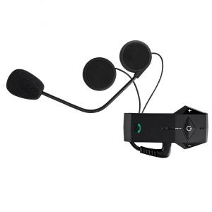 China Double Lens Flip Up Intercom Motorcycle Bluetooth Ear Plugs Earbuds Earphones With Microphone on sale