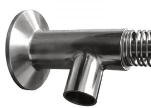 China DN8 No Leakage Stainless Steel Sample Valve , Sanitary Pipe Fittings And Valves on sale