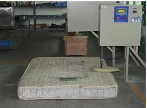 China Professional Mattress Testing Machine BS EN 1957 Edge Durability Tester on sale