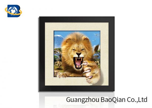 -12x16 Print White Lions 3D Lenticular Poster