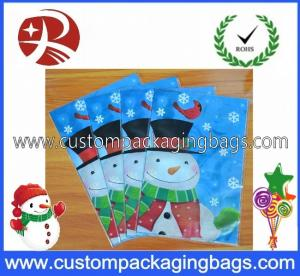 China Customized Plastic Birthday Treat Bags Recyclable With Color Printed on sale
