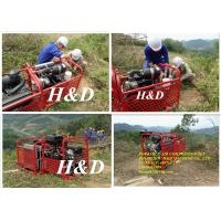 Our exported light weight portable air compressor used for mountains area, working with protable drilling rig,