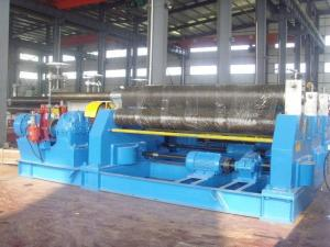 China 25 - 30 mm Thickness Plate Rolling Machine 3 Roll Mechanical Plate Bending Machine on sale