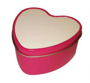 China Bulk Scented Heart Tin Box Candles on sale