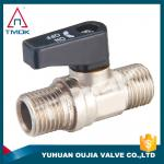 3/4 2PC External Threaded Brass Ball Valve Mini With End Stop