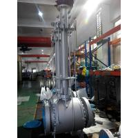 A105 Forged Extension Trunnion Ball Valve Flange Ends