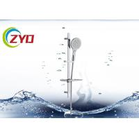 Reliable Bathroom Shower Sets High Grade SS Material Plated Surface