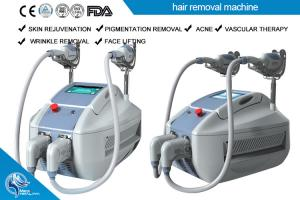 China 2500W Professional Shr Ipl Laser Equipment Hair Removal Beauty Machine With 3*12000uf on sale