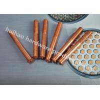 Capacitor Discharge Annular Grooved Weld Pins , Stud Welder Pins With Threaded