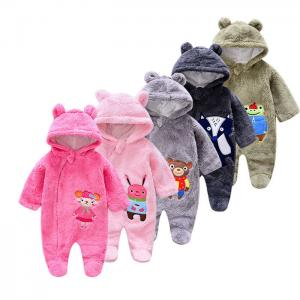 China Kids Romper Funny Baby One Piece Snowsuit Baby Gril Clothes Romper Plain Baby Romper on sale