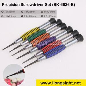 China Precision Titanium Steel Screwdriver Set BK-6636-B for cell Phone electronic products,Watches repair on sale