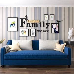 China Family Photo Wall Wood Picture Frame Hanging Frames Wholesale on sale