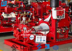 Split Case Diesel Fire Fighting Pumps 750GPM @ 250PSI With NFPA20