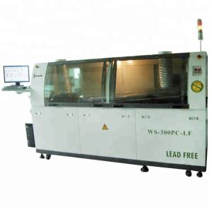 China Dual Wave Soldering Machine Industrial PC Controlled For Production Line on sale