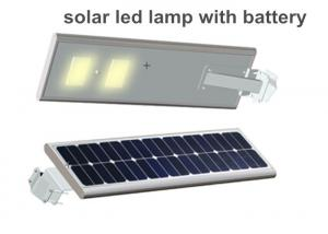 China Super Brightness 15w Solar Powered Led Street Lights 80-90lm / W on sale