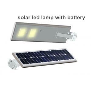 China Super Brightness 15w Solar Powered Led Street Lights 80-90lm / W on sale