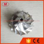 С200 51.80/74.10мм заготовка Турбо 7+7 лезвий/филировать/колесо 2024 компрессора алюминия