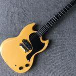 Custom relic SG electric guitar, A P90 pickup, ebony fingerboard relic electric guitar, free shipping