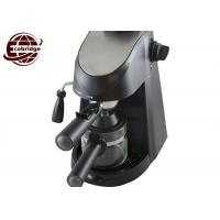 China Mini Household Coffee Makers With Glass Jug 3.5 Bar 240ml 2-4 Cups Family on sale