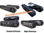 China steel track undercarriage with various kinds of track shoe wholesale