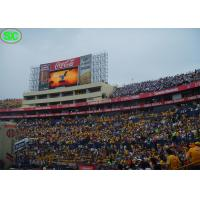 RGB outdoor electronic led display boards, High definition for Football Stadium